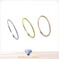 Venda Por Atacado simples e moda 925 pulseira de prata (g41280)