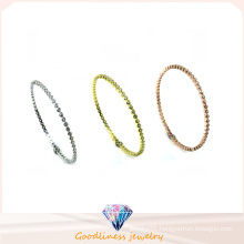 Wholesale Simple & Fashion 925 Silver Bangle (G41280)