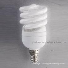 12W T2 mini completo con lámparas espirales CE UL