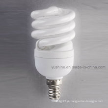 12W T2 mini completo espiral lâmpadas com CE UL