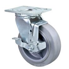 200mm Heavy Duty Swivel Performa Wheel Caster with Side Brake