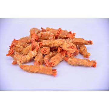 Air-Dried Chicken Wrap Sweet Potato/Duck Sandwich for Pets