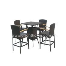 Ensemble de bar - Chaise et table de bar extérieur (BT-N21)