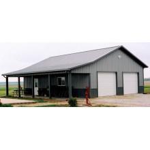Здание сарая из легкой стальной конструкции (KXD-SSB1413)