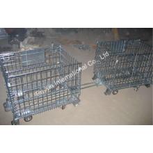 Bom preço Wire Mesh Pallet Cotainer para gaiola de armazenamento