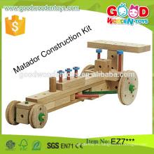 Новый дизайн матадор строительный комплект образовательной деревянной оптовой игрушки из Китая