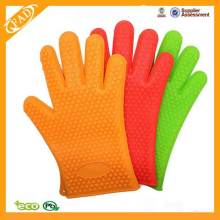 Heat Resistant Waterproof Silicone Cooking Gloves