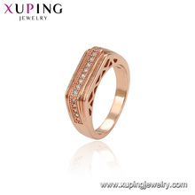 14471 Xuping cheap wholesale1 fashion men ring rose gold plated ring jewelry
