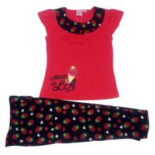 O terno das crianças do bebé do verão na roupa dos miúdos