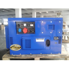 AC Three Phase 10kVA Key Start Silent Diesel Generator for Shop and Factory Use (KDE12T3)