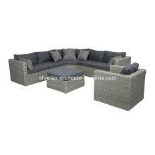Outdoor Rattan Garden Wicker Patio Lounge Sofa Set Furniture