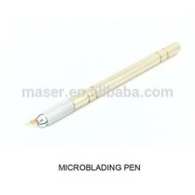 Aiguilles 3D microblade handle / stylo microblading manuel / hotsale stylo manuel de maquillage permanent