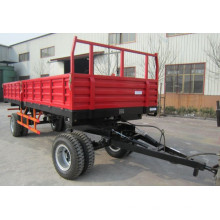 7CX-20 8wheel20ton trailer with CE certificate