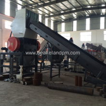 pe pp washing line plastic recycling machine