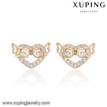 91655 Xuping Nouvelle conception en gros plaqué or stud stud