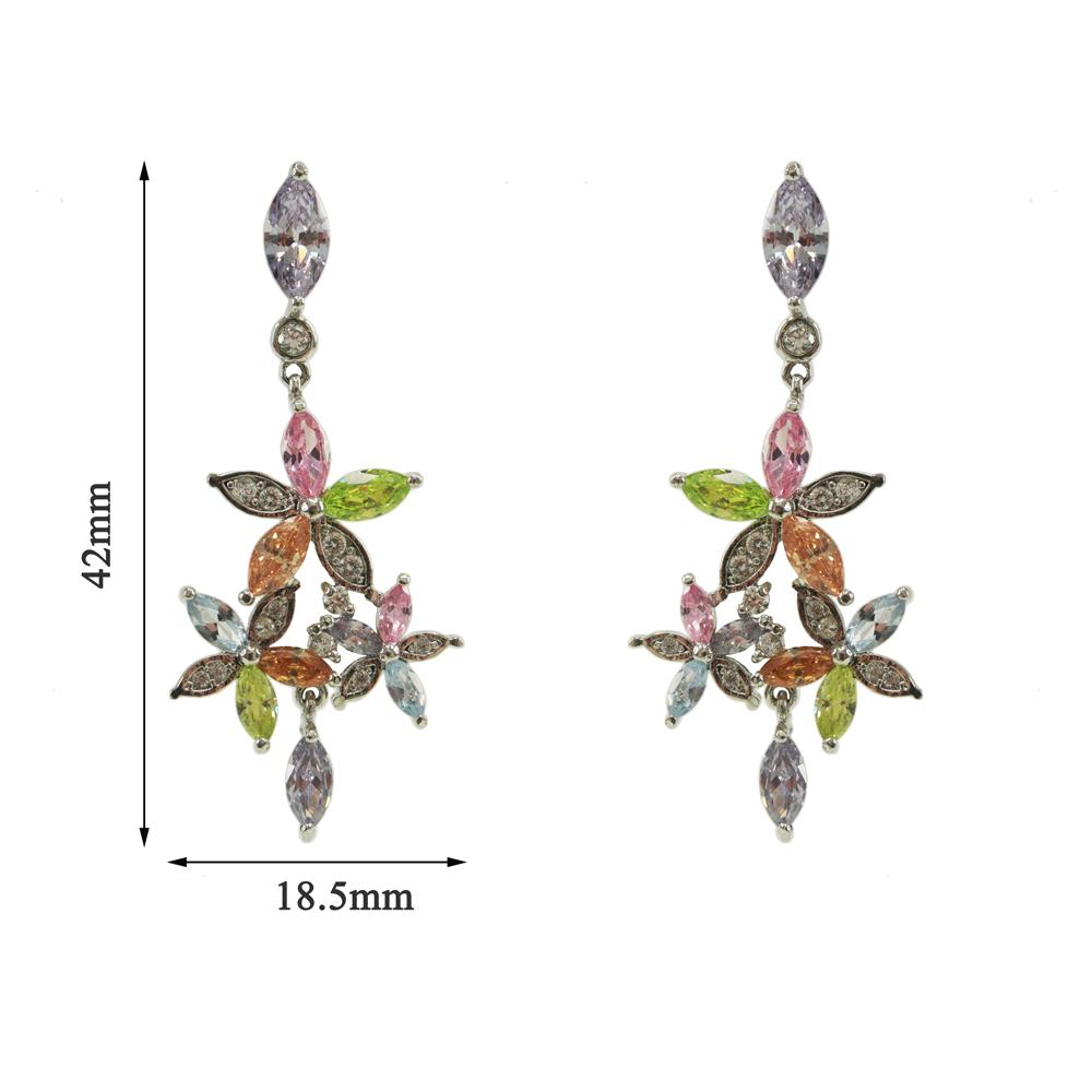 Silver Earrings For Girls