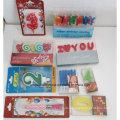 Neue Design Geburtstagsfeier Nummer Kerze für Kinder