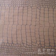 Suede typé canapé tissu Crocodile Pattern