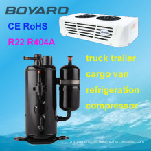 R22 rotary refrigeration refrigerator chest freezer compressor for condensing unit hot sale
