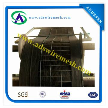 Tissu géotextile géofabricé 85GSM avec 36 '' X100 'Clôture de silo renforcée par fil (ISO9001)