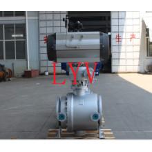 Válvula de bola flotante del acero de molde del API 150lb con ISO9001 con API