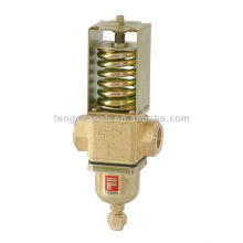 Refrigerator water pressure regulator adjustable