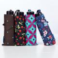 Topumbrella счастлив Анти-УФ Вс дождь Ветрозащитный мини-путешествия складной зонтик для женщин