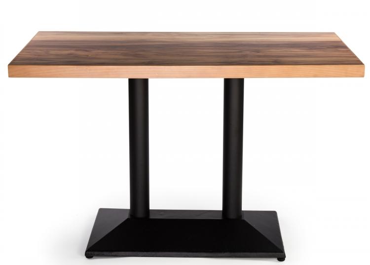 Modern Hpl Laminate Wooden Cafe Restaurant Dinning Table