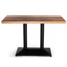 Modern HPL Laminate Wooden Cafe Restaurant Dinning Tables