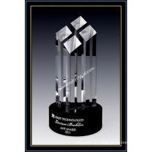 Premio de torre de facetas de cristal de 9 pulgadas (NU-CW775)