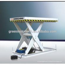 Mesa de elevación de tijera de alta calidad / mesa de elevación de la motocicleta hidráulica / mesa de elevación hidráulica de madera contrachapada