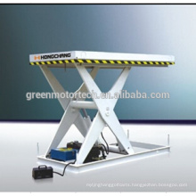 High qualitymini scissor lift table/hydraulic motorcycle lift table/plywood hydraulic lift table