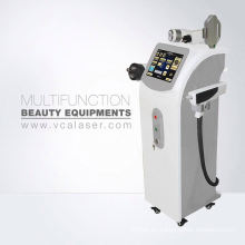 La mejor máquina multifunción de la venta para la depilación de la elevación de la piel