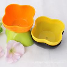Красочные Пластиковые Цветочный горшок для украшения дома и сада