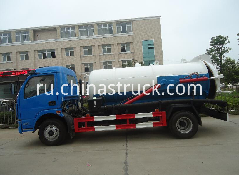Duolika 5Ton fecal sewage suction truck