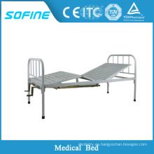 SF-DJ107 Moderna última cama de metal diseños de metal cama litera cama de hierro muebles