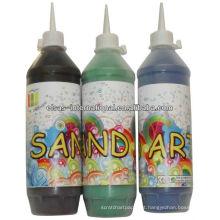 Artesanato de garrafas Sand Art