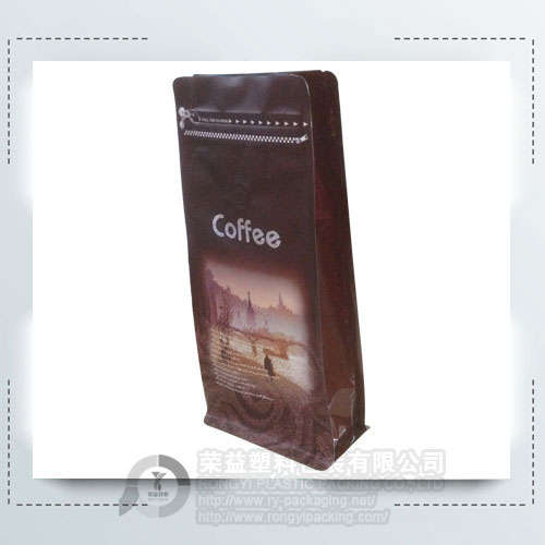Coffee Packaging Bag with Degassing Valve