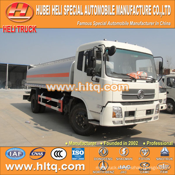 new DONGFENG 4x2 fuel tanker truck 15000L cheap price made in China