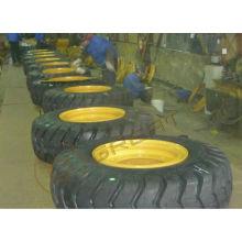 Montaje de neumáticos y ruedas