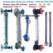 Tubo transparente de nivel de tubo de PVC - Medidor de nivel tubular de vidrio