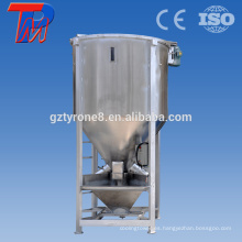 Asiático de alta calidad de acero inoxidable Drum Industrial Plastic Granule Blender Mixer Machine