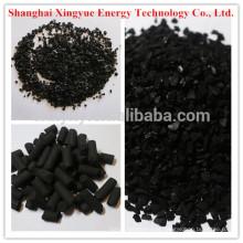 Carvão antracite 1.5mm cilíndrico Carvão ativado para purificação do ar