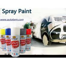 Pintura em spray de aerossol acrílico, cores de tinta spray