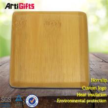 Coaster en bois personnalisé bon marché en gros