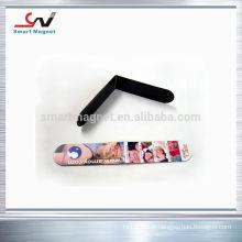 Magnets personnalisés au réfrigérateur recouverts de papier ou de PVC