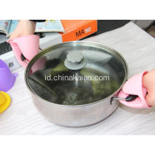 Grosir Tebal Heat-Perlawanan Silicone Pot Glove Holder