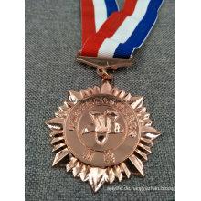 Maßgeschneiderte Lauf / Sport / Gold / Golden / Marathon / Award / Militär / Souvenir Medaille