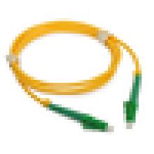 LC APC to LC APC 9/125 Однонаправленный волоконно-оптический патч-кабель Simplex с двухслойной ПВХ-оболочкой