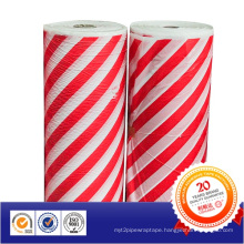 Red and White Warning PE Tape Offer Sample Jumbo Roll